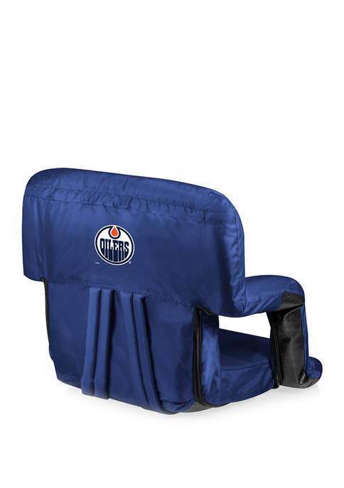 NHL Edmonton Oilers Ventura Portable Reclining Stadium Seat