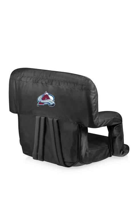 NHL Colorado Avalanche Ventura Portable Reclining Stadium Seat