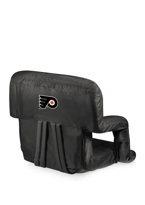 NHL Philadelphia Flyers Ventura Portable Reclining Stadium Seat