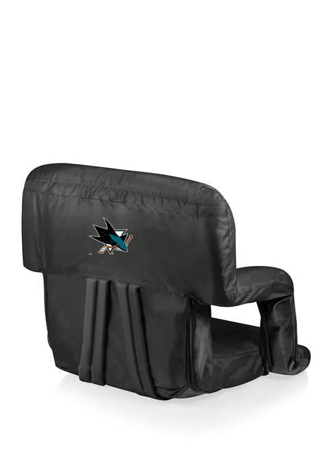 NHL San Jose Sharks Ventura Portable Reclining Stadium Seat