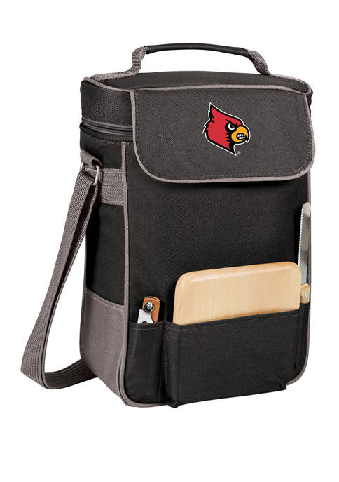 Picnic Time NCAA Louisville Cardinals Duet Wine and