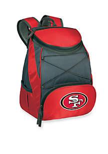San Francisco 49ers PTX Backpack Cooler