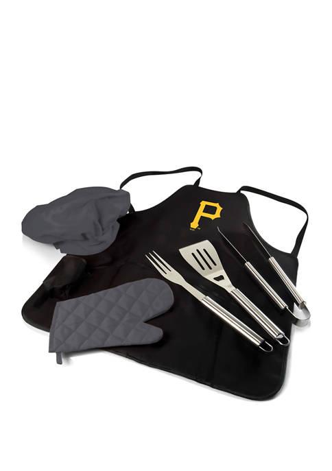 MLB Pittsburgh Pirates BBQ Apron Tote Pro Grill Set