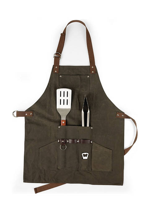 BBQ Apron with Tools and Bottle Opener