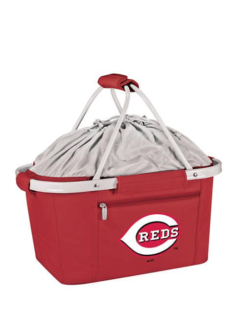 MLB Cincinnati Reds Metro Basket Collapsible Cooler Tote