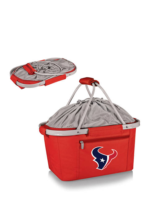 NFL Houston Texans Metro Basket Collapsible Cooler Tote