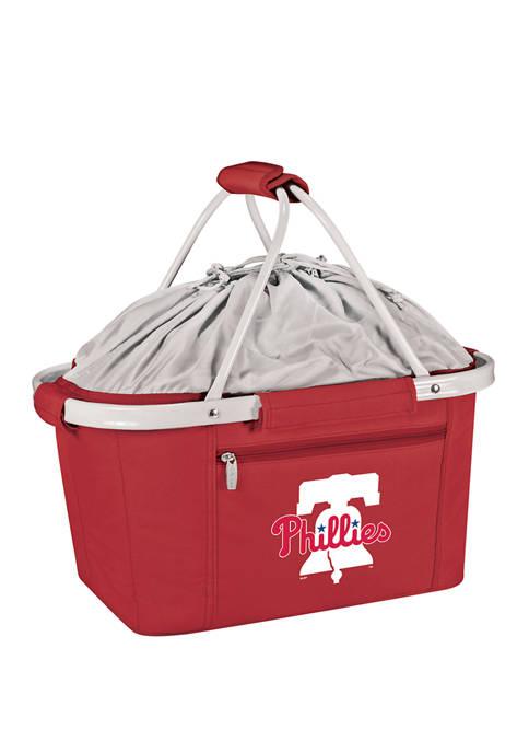 MLB Philadelphia Phillies Metro Basket Collapsible Cooler Tote