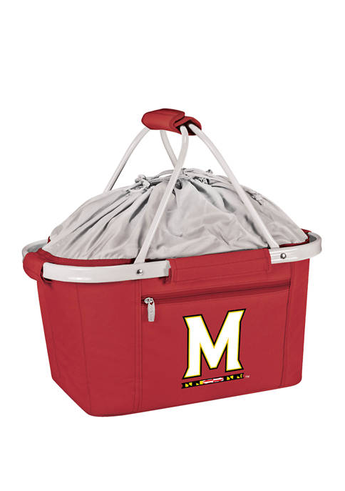 NCAA Maryland Terrapins Metro Basket Collapsible Cooler Tote
