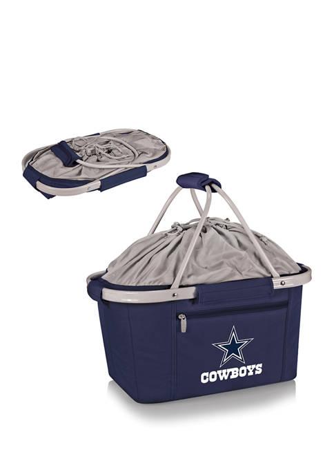 NFL Dallas Cowboys Metro Basket Collapsible Cooler Tote