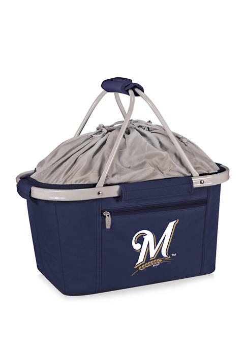 ONIVA MLB Milwaukee Brewers Metro Basket Collapsible Cooler