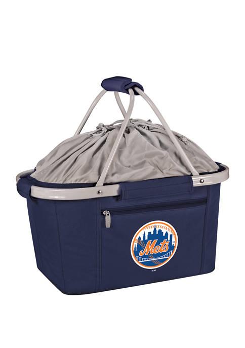 MLB New York Mets Metro Basket Collapsible Cooler Tote