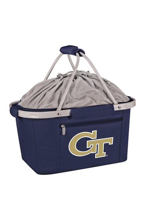 NCAA Georgia Tech Yellow Jackets Metro Basket Collapsible Cooler Tote