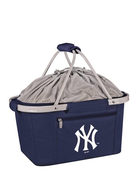 MLB New York Yankees Metro Basket Collapsible Cooler Tote