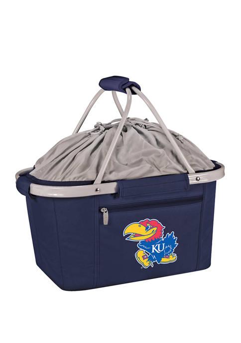 NCAA Kansas Jayhawks Metro Basket Collapsible Cooler Tote