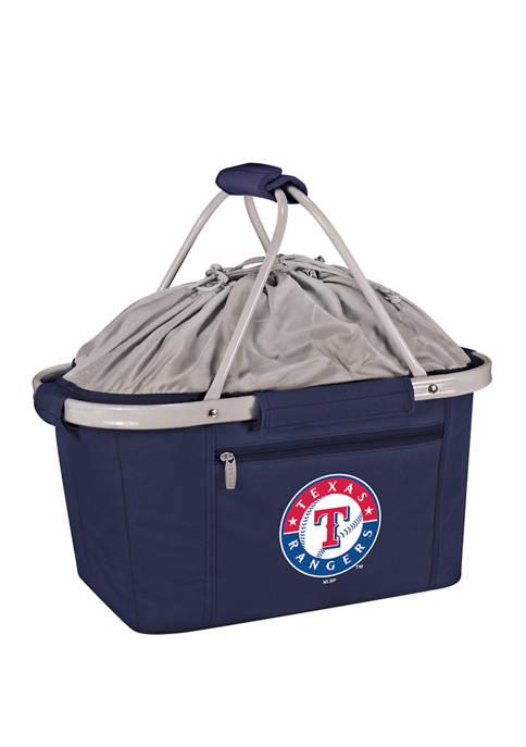 MLB Texas Rangers Metro Basket Collapsible Cooler Tote
