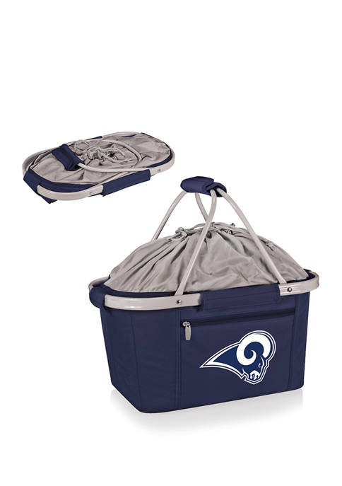 NFL Los Angeles Rams Metro Basket Collapsible Cooler Tote