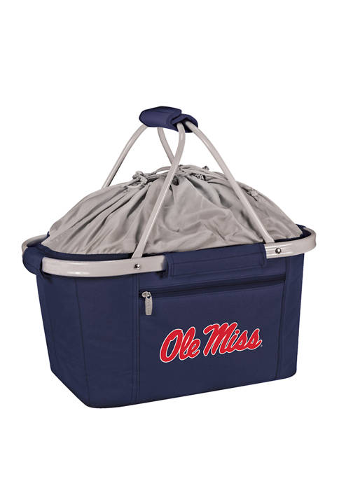 NCAA Ole Miss Rebels Metro Basket Collapsible Cooler Tote