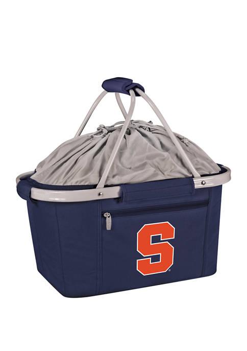 NCAA Syracuse Orange Metro Basket Collapsible Cooler Tote