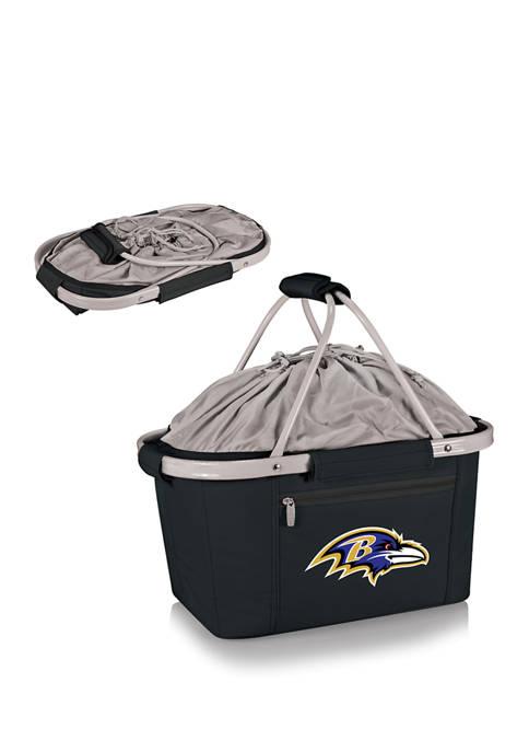 ONIVA NFL Baltimore Ravens Metro Basket Collapsible Cooler