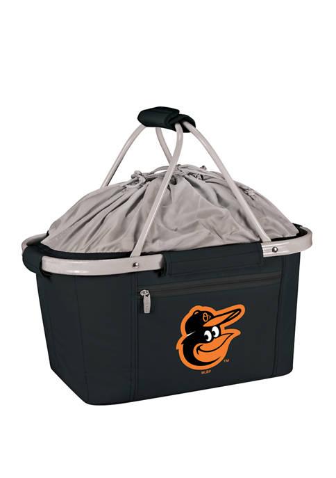 MLB Baltimore Orioles Metro Basket Collapsible Cooler Tote