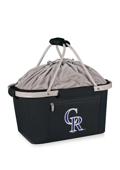 MLB Colorado Rockies Metro Basket Collapsible Cooler Tote