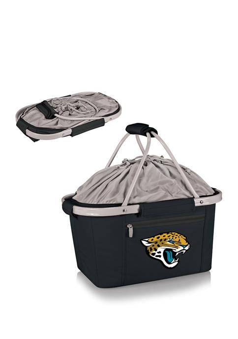 NFL Jacksonville Jaguars Metro Basket Collapsible Cooler Tote