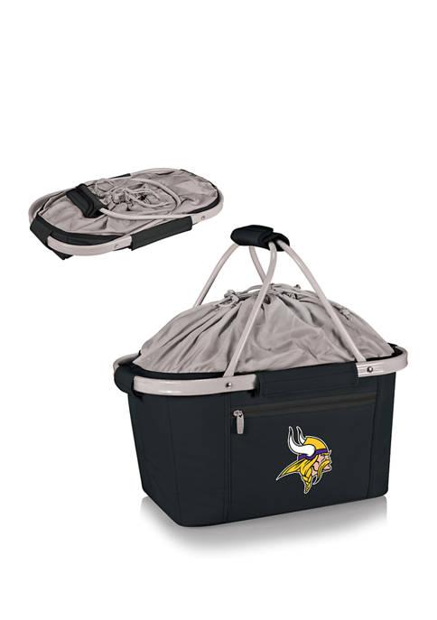 NFL Minnesota Vikings Metro Basket Collapsible Cooler Tote
