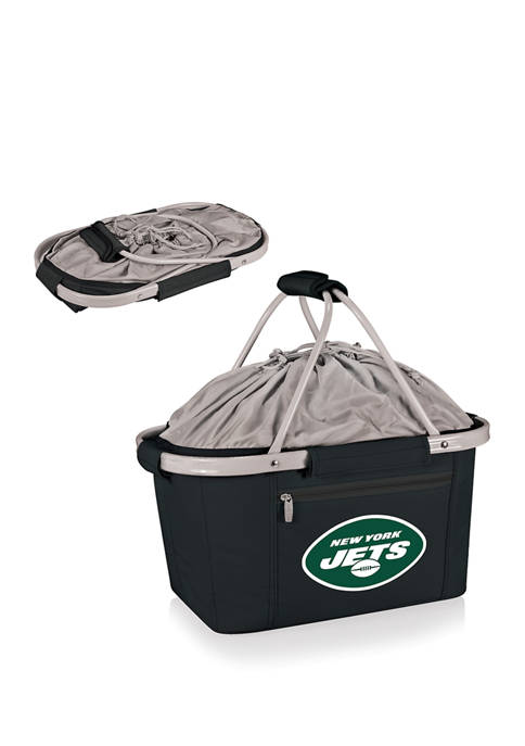 NFL New York Jets Metro Basket Collapsible Cooler Tote