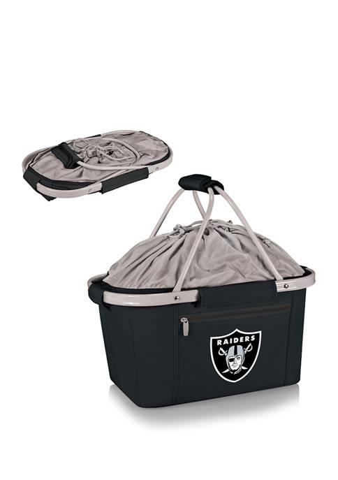 ONIVA NFL Oakland Raiders Metro Basket Collapsible Cooler