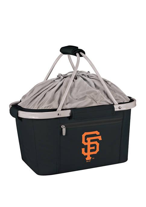 MLB San Francisco Giants Metro Basket Collapsible Cooler Tote