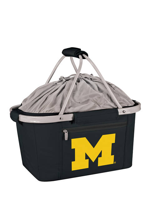 Picnic Time NCAA Michigan Wolverines Metro Basket Collapsible