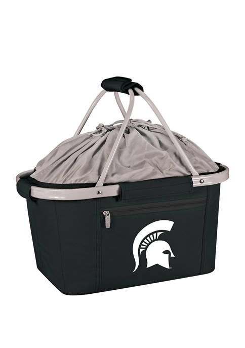 NCAA Michigan State Spartans Metro Basket Collapsible Cooler Tote