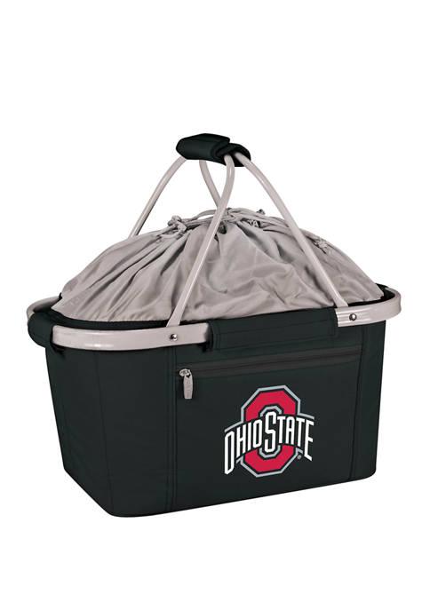 NCAA Ohio State Buckeyes Metro Basket Collapsible Cooler Tote