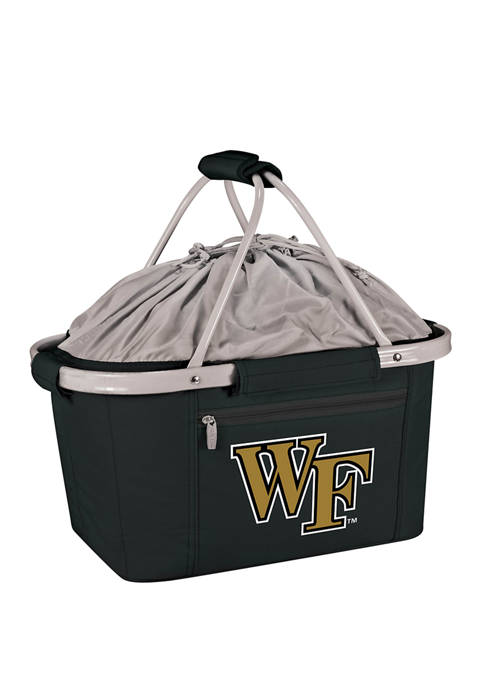 NCAA Wake Forest Demon Deacons Metro Basket Collapsible Cooler Tote