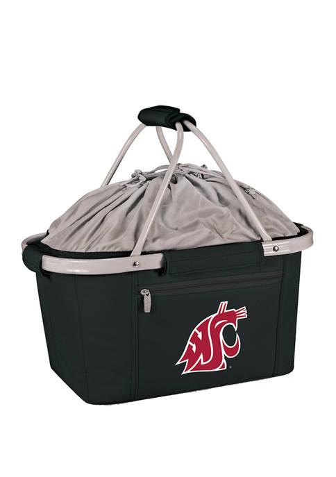 NCAA Washington State Cougars Metro Basket Collapsible Cooler Tote