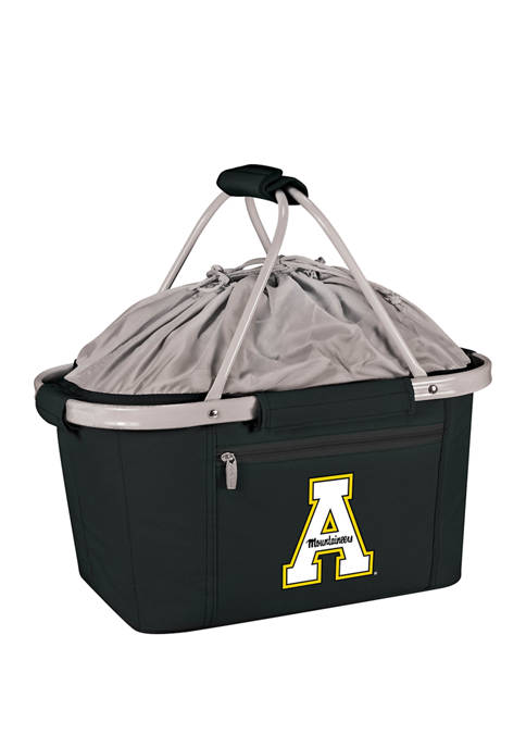 NCAA App State Mountaineers Metro Basket Collapsible Cooler Tote