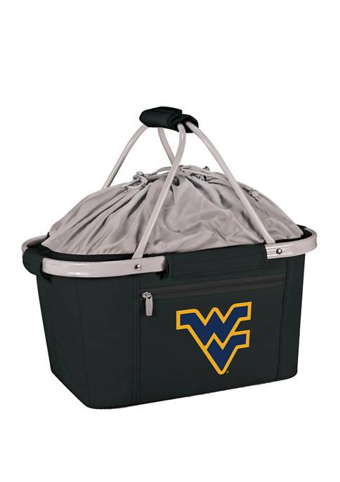 NCAA West Virginia Mountaineers Metro Basket Collapsible Cooler Tote