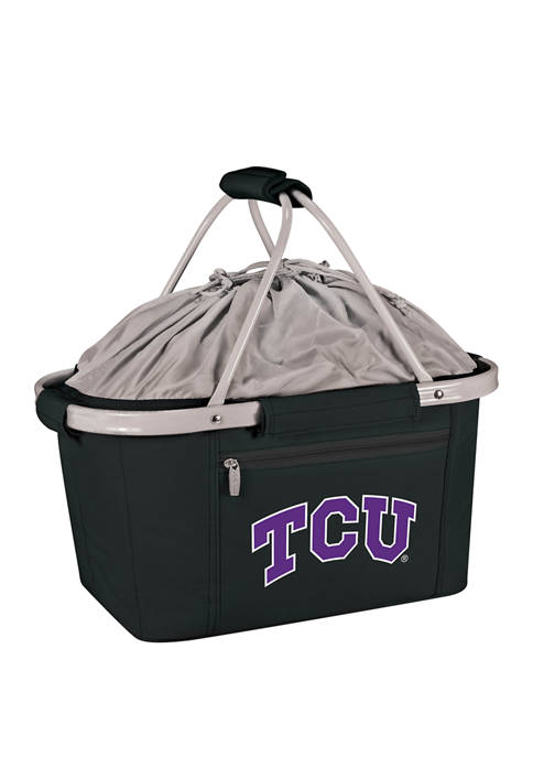 NCAA TCU Horned Frogs Metro Basket Collapsible Cooler Tote
