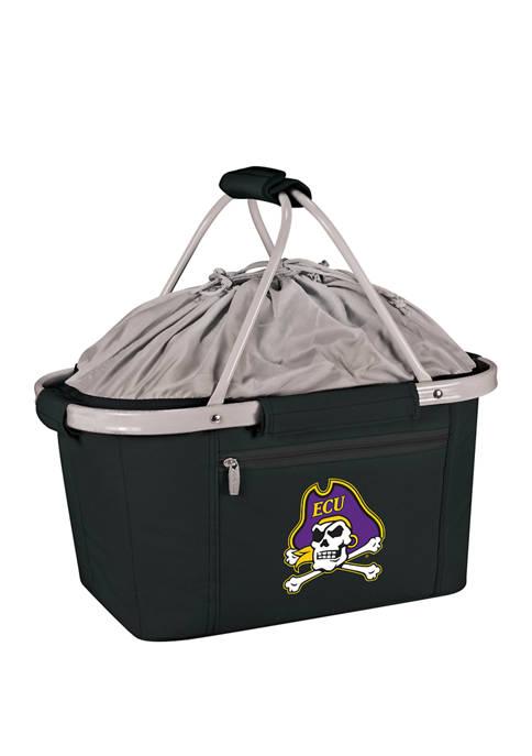 Picnic Time NCAA East Carolina Pirates Metro Basket