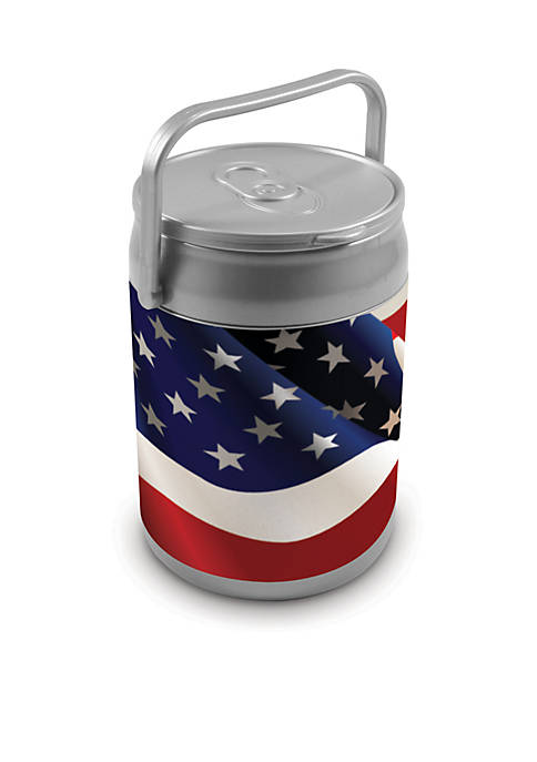 American Flag 10-Can Cooler