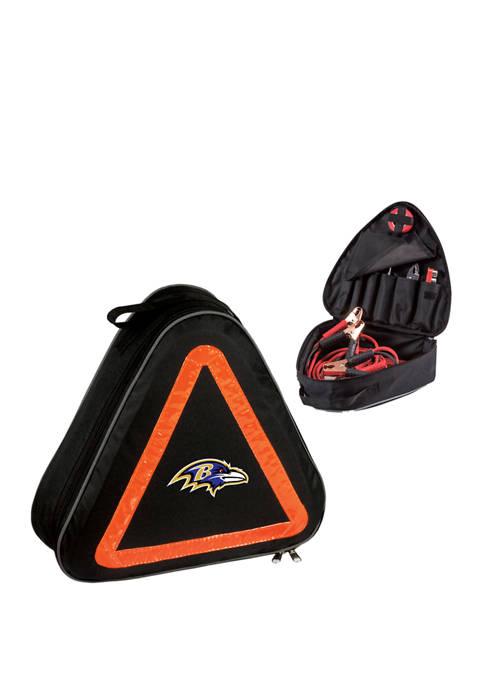 NFL Baltimore Ravens Roadside Emergency Car Kit