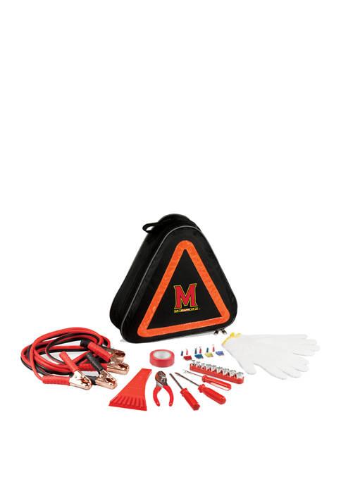 NCAA Maryland Terrapins Roadside Emergency Car Kit