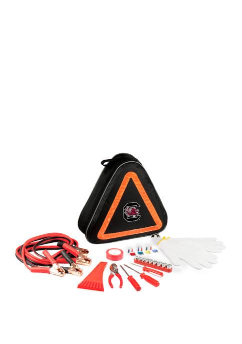 NCAA South Carolina Gamecocks Roadside Emergency Car Kit