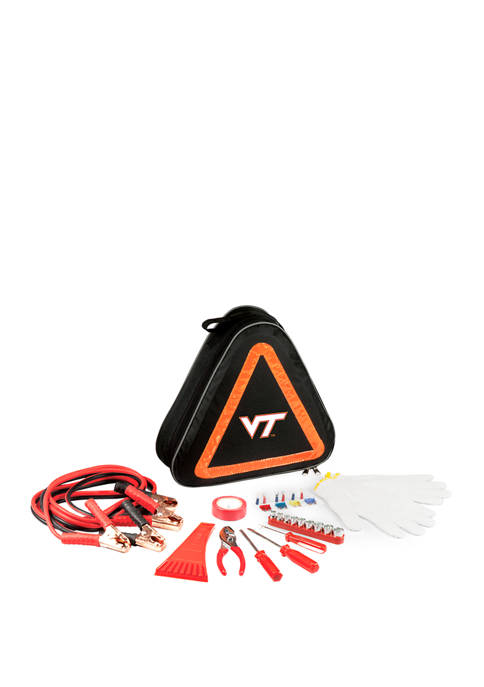NCAA Virginia Tech Hokies Roadside Emergency Car Kit