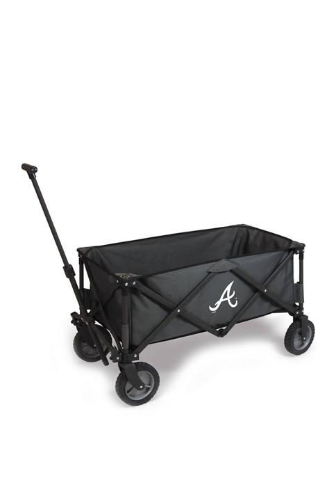 MLB Atlanta Braves Adventure Wagon Portable Utility Wagon