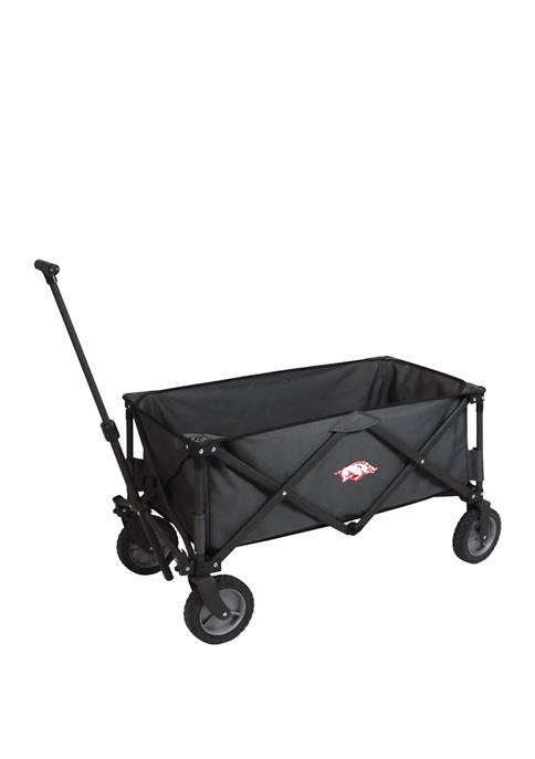 NCAA Arkansas Razorbacks Adventure Wagon Portable Utility Wagon