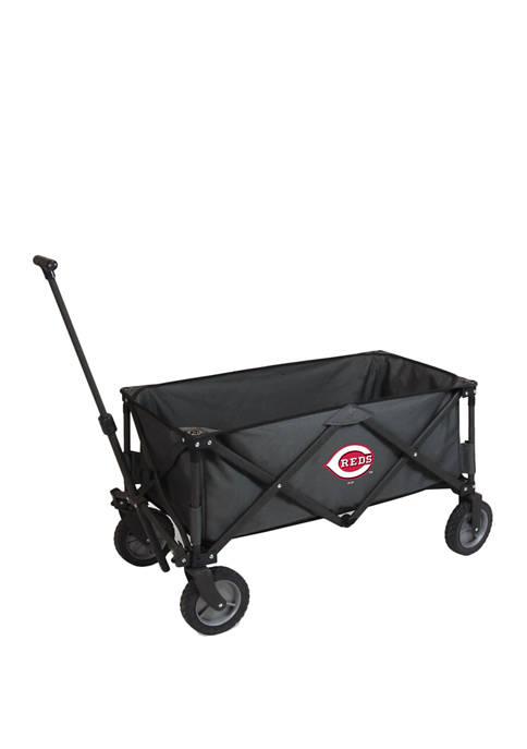 MLB Cincinnati Reds Adventure Wagon Portable Utility Wagon