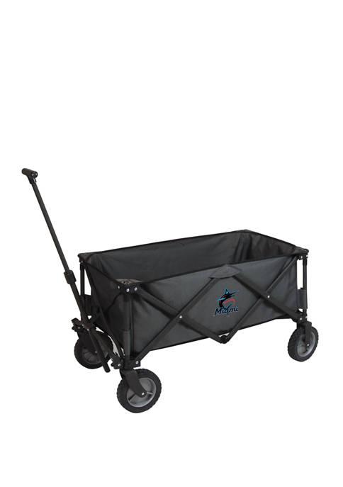 MLB Miami Marlins Adventure Wagon Portable Utility Wagon
