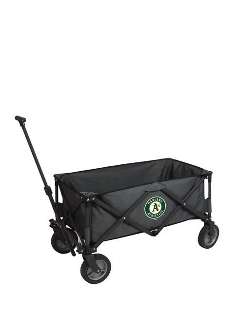 MLB Oakland Athletics Adventure Wagon Portable Utility Wagon