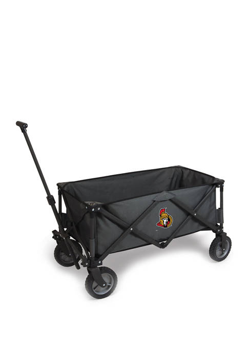 NHL Ottawa Senators Adventure Wagon Portable Utility Wagon